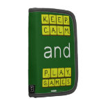 KEEP CALM and PLAY GAMES  Folio Planners