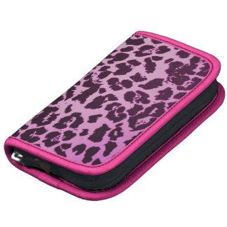 Folio rosado femenino de Smartphone de la impresió Planificadores
