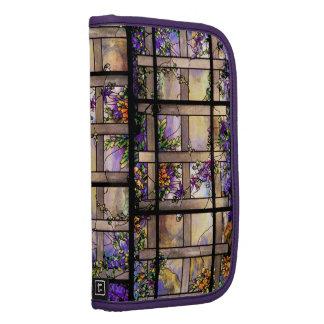 Folio Smartphone del carrito del vitral de Tiffany Planificador