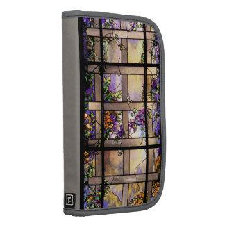 Folio Smartphone del carrito del vitral de Tiffany Planificadores