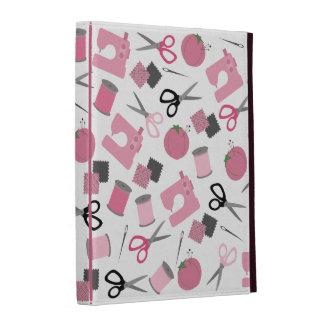 Folio temático de costura del iPad