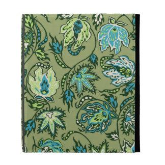 Folio tropical del iPad del batik del Protea