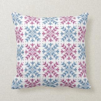 Folk Art 1 Throw Pillows