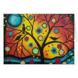 FOLK ART A Morning With You BY LORI  Greeting Card