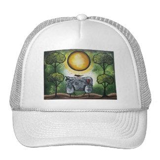 Folk Art American, By Lori Everett Trucker Hat
