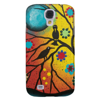 FOLK ART BY LORI EVERETT A Morning With You Samsung Galaxy S4 Case