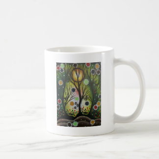 Folk Art_By Lori Everett, Day Of The Dead,Tree Art Coffee Mug