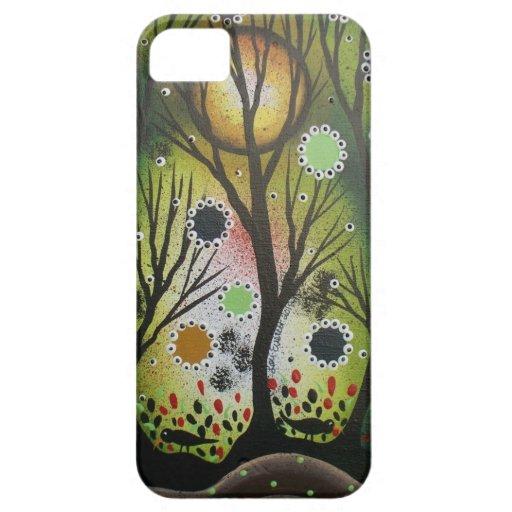 Folk Art_By Lori Everett, Day Of The Dead,Tree Art iPhone SE/5/5s Case