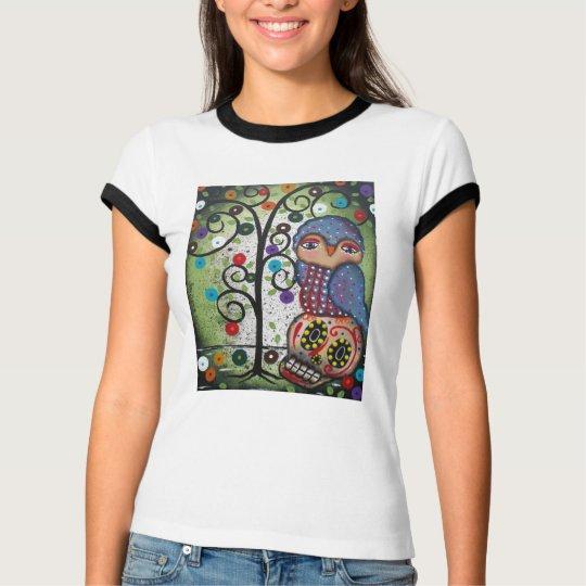 Folk Art By Lori Everett Womans T-Shirt