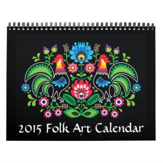 Folk Art Calendar - SRF