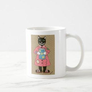Folk Art CAT Coffee Mug