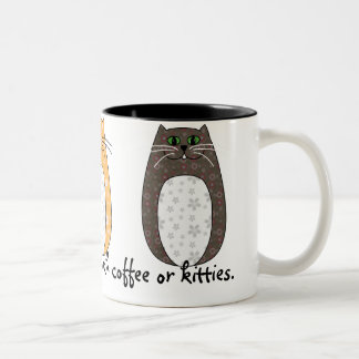 Folk Art Cats Mug