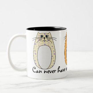 'Folk Art Cats' Mug