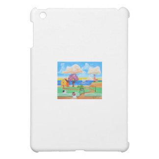 Folk art cow painting by Gordon Bruce iPad Mini Covers