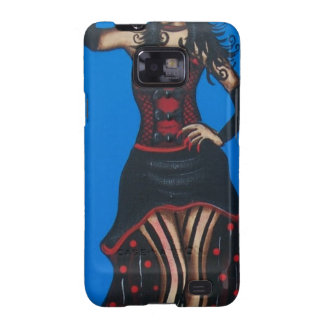FOLK ART Cute Lady BY LORI EVERETT Galaxy S2 Cover