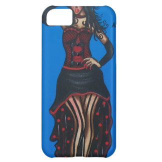FOLK ART, Cute Lady, BY LORI EVERETT Case For iPhone 5C