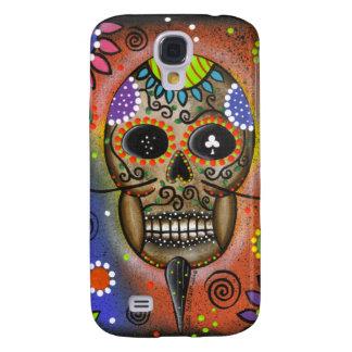 Folk Art Day Of The Dead By Lori Everett Galaxy S4 Covers