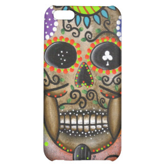 Folk Art Day Of The Dead By Lori Everett iPhone 5C Cases