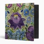 Folk Art Embroidery Flowers Binders