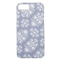 Folk Art Floral Damask iPhone 7 Case