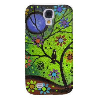 Folk Art Hanging Out By Lori Everett Galaxy S4 Cover
