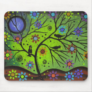 Folk Art Hanging Out By Lori Everett Mouse Pad