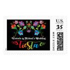 Folk Art Mexican Fiesta Embroidered Stamp