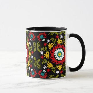 Folk art mug