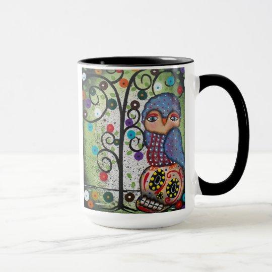 Folk Art Mug By Lori Everett