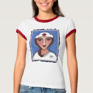 Folk Art Nurse - RN / nursing t-shirt