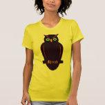 Folk Art Owl Tshirts