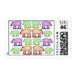 Folk Art Piggies - Piggies go to Market Colorful Stamps