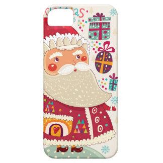 Folk Art Santa Claus iPhone SE/5/5s Case