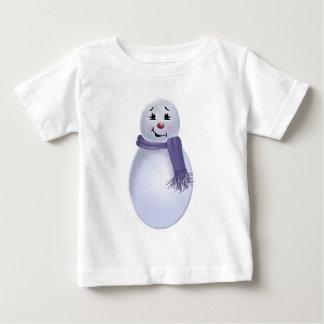 Folk Art Snowman T Shirt