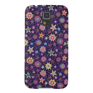 Folk Art Starry Sky Galaxy S5 Cover