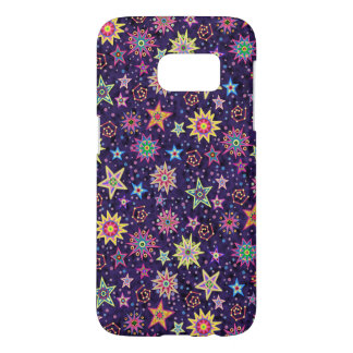 Folk Art Starry Sky Samsung Galaxy S7 Case