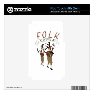 Folk Dance Decal For iPod Touch 4G