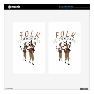 Folk Dance Kindle Fire Skins