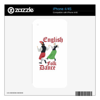 Folk Dance Skin For The iPhone 4S