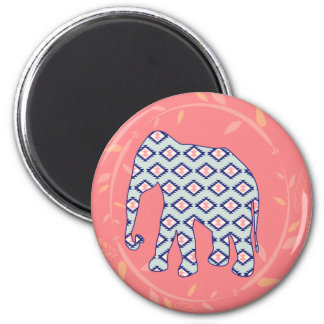 Folk Elephant Navajo Boho Hippie Gypsy Home Decor Magnet