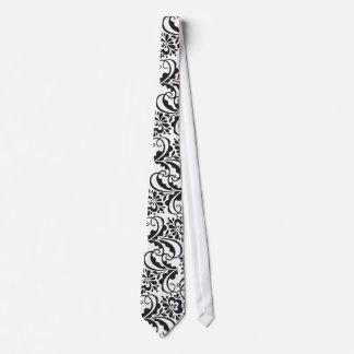 folk flower tie