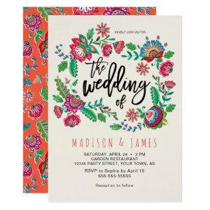Mexican Wedding Invitations Announcements Zazzle