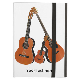Folk Guitar Acoustic Bass and Ukulele Cover For iPad Air