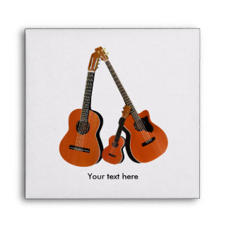 Folk Guitar Acoustic Bass and Ukulele Envelope