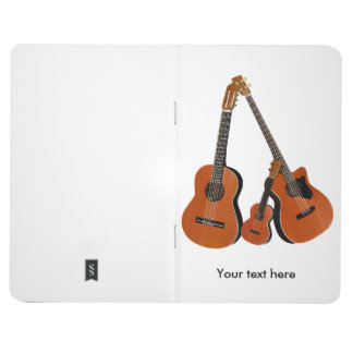 Folk Guitar Acoustic Bass and Ukulele Journal