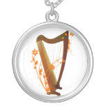 Folk Harp Necklace