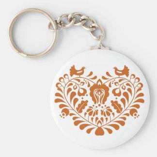 Folk Hearth Keychain