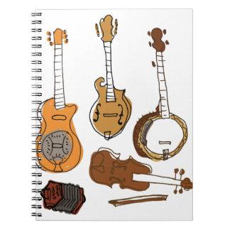 Folk Instruments Notebook