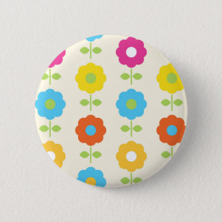 FOLK MAGICAL FLOWERS COLOR EDITION BUTTON