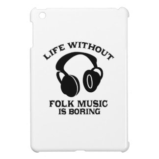 Folk Music designs iPad Mini Case